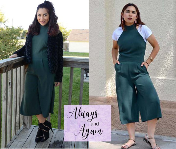 5 Green Jumpsuit